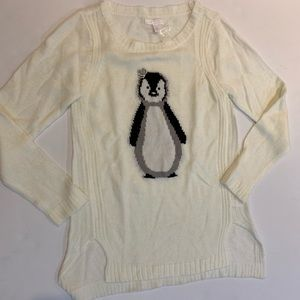 LC Lauren Conrad new penguin sweater w/ crown